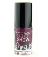 Set of 5 Maybelline Color Show Nail  Polish Assorted Colors Burgundy Pink - $14.99