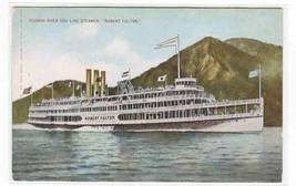 Steamer Robert Fulton Hudson River Line New York 1911 postcard - $6.50