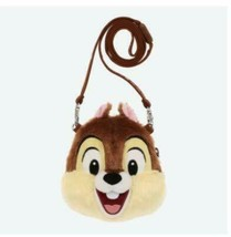 Disney Stuffed Coin Case Chip and Dale Chip 'n Dale Tokyo Disney Neck St... - $56.65