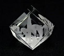 Steuben Glass City Block paperweight - $570.00