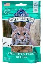 Blue Buffalo Wilderness Grain Free Chicken and Trout Cat Treats - $19.99