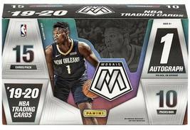 Spot #21 - 2019-20 NBA Panini Mosaic Random Team Hobby Box Break #15 - $39.59