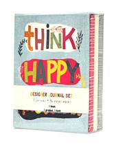 Think Heureux Thoughts Créateur Journal Set - $20.90