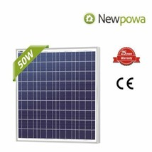 NewPowa High efficiency 50W 12V Poly Solar Panel Module RV Marine Boat O... - €84,97 EUR
