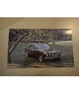 "JAGUAR 1971 XJ6 SEDAN AUTOMOBILE 5 1/2"" X 9"" POSTCARD VG UNPOSTED CONDIT... - $9.85"