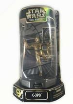 Star Wars Kenner Epic Force Rotating C-3PO Action Figure Sealed - $11.87