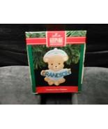 "Hallmark Keepsake ""Grandson's First Christmas"" 1991 Ornament NEW See Det... - $5.10"