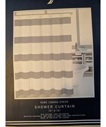 Nautica Home Cabana Stripe Gray/White Shower Curtain - $34.00