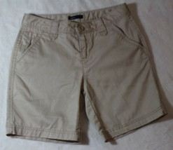 Gap Kids Girls Shorts Size 14 Regular Beige Khaki Long Leg Summer Spring... - $17.81