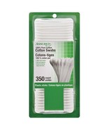 Assured 100% Pure Cotton Swabs 350 Count With Plastic Sticks  3 pk - $14.85