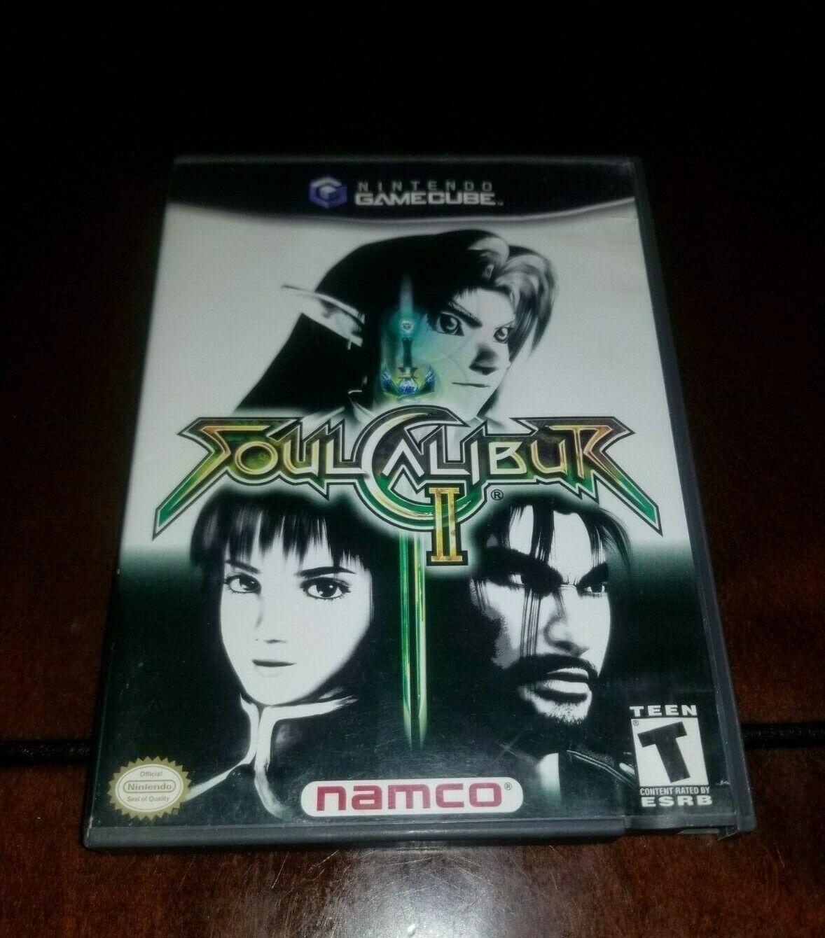 Soul Calibur II Nintendo GameCube EX **Inv02858**