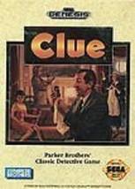 Clue (Sega Genesis, 1992) - $8.99