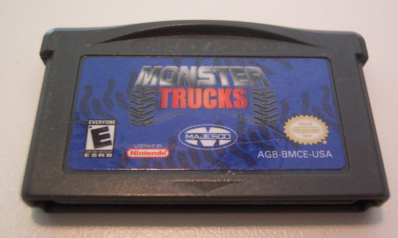 MONSTER TRUCKS NINTENDO GAME BOY ADVANCE GAME CART 2004