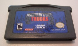 MONSTER TRUCKS NINTENDO GAME BOY ADVANCE GAME CART 2004 - $14.85
