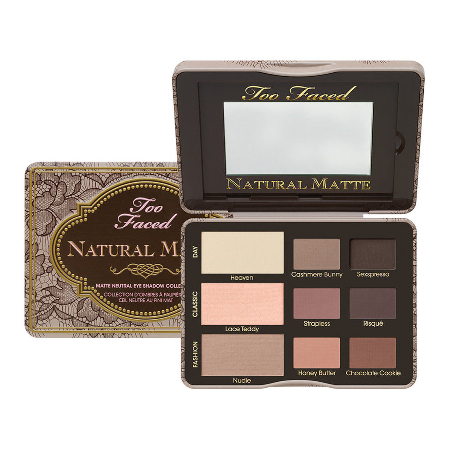 Too Faced 9 Colors Natural Matte Neutral Shades Eye Shadow