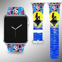 Little Mermaid Disney Apple Watch Band 38 40 42 44 mm Series 1 2 3 4 Wrist Strap - $24.99+