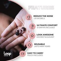 Loop Earplugs for Noise Reduction 2 Ear Plugs High Fidelity Ear Protection for C image 4