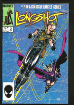 LONGSHOT #2 VF- or better MARVEL COMICS Arthur Adams Ann Nocenti Luckies... - $18.99