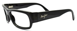 Maui Jim MJ250-02 Lava Flow Sunglasses Gloss Black 58-18-120 FRAME ONLY - $48.70
