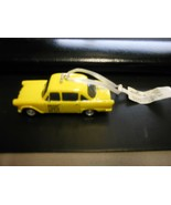 "Hallmark ""Bright Lights Big City - Yellow Taxi"" Metal Ornament NEW with Tag - $14.80"
