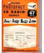 Sams Photofact CB Radio CB-67 June May 1975 - $1.75