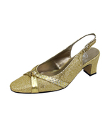 FLORAL Velma Women's Wide Width Dress Slingback Pumps with Bow - $39.95
