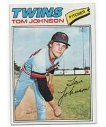 1977 Topps #202 Tom Johnson - Twins VG - $0.99