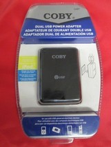 Coby Dual USB Power Adapter CA81 BRAND NEW! - $7.87