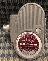 Vintage Bell & Howell 8mm 134 Old Camera Movie Camera Untested - $14.99