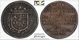 1659-hs Alemania Brunswick-Luneburg 1/8 Thaler Calidad Xf40 Lote #G015 Ann - $1,198.18