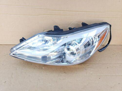 12-14 Hyundai Genesis Sedan Halogen Headlight Lamp Drive Left LH POLISHED