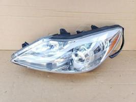 12-14 Hyundai Genesis Sedan Halogen Headlight Lamp Drive Left LH POLISHED image 1