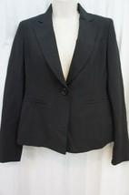 Anne Klein Suit Separates Blazer Sz 2P Black Onyx 1 Button Career Suit J... - $59.35