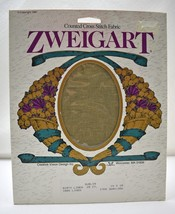 "Zweigart Dublin 25 Count Cross Stitch Fabric Dirty Linen 14""x18"" New Old Stock - $12.30"