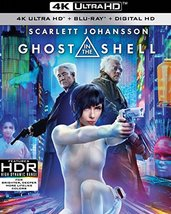 Ghost in the Shell [4K Ultra HD + Blu-ray]