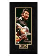 "Elvis Presley ""Rockin"" - 6.75"" x 13"" Miniframed Photo   - $38.95"