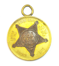 1900 Chicago Ladies of the Grand Army of the Republic Medal SD Childs & ... - $62.36