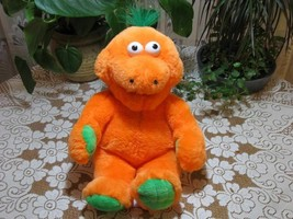 Bart Smit Holland Talking Orange Bear Plush 17 Inch That Tickles Battery... - $57.83
