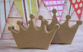 Crown Freestanding MDF craft blank 18mm thick craft blank - $1.40+