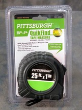 Pittsburgh Tape Measure 25 Feet by 1 Inch Retractable Ruler - $3.00