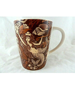 Starbucks Coffee Mug Split Tail Mermaid Brown Copper Siren 35th Annivers... - $11.87