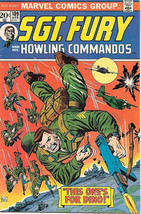 Sgt. Fury and His Howling Commandos Comic Book #109 Marvel 1973 FINE- - $5.71