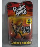 "NIB 2007 Guitar Hero Johnny Napalm 6"" action figures Mcfarlane Toys - $25.00"