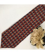 Jerry Garcia Megalith Collection 10 Rust silk business tie - $19.95