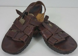 BORN size 8/39 brown sandals strappy slingback comfort womens - $39.99