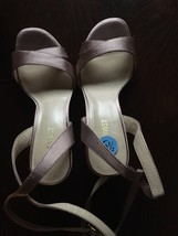 NINE WEST Womens' Peach Shoes in Satin finish. Size:6.5. No original box. - $18.99