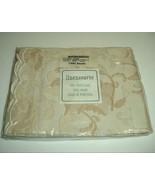 "Linen Source 100% Matelasse 20x36"" King Size Pillow Sham/Case Taupe Marg... - $29.65"
