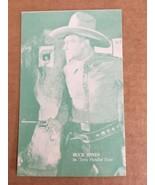 Exhibit Buck Jones Trading Card Ivory Handled Guns NM Condition - $7.99