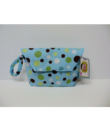 Tushy Tote by Sister Chic-Diaper & Wipe Case-1 Sky Dot WOW! - $14.79