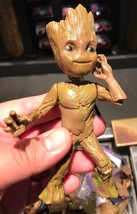 Disney Parks Guardians Of The Galaxy Mission Breakout Baby Groot Wind Up Toy New - $14.54